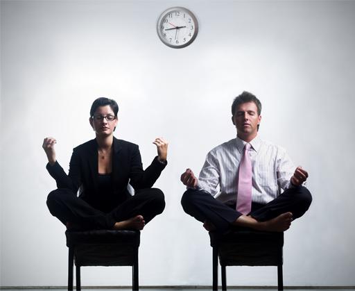gestion du stress au travail méditation bureau