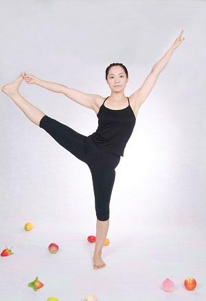 power yoga pose