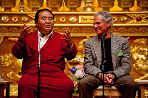 Sogyal Rinpoche et Jon Kabat Zinn